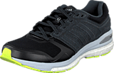 adidas Sport Performance - Supernova Sequence Boost Clima Core Black/Flash Lime/Orange