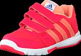 adidas Sport Performance - Essential Star 2 Cf K Shock Red/Sun Glow/Eqt Blue