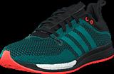 adidas Sport Performance - Adizero Feather Boost M Core Black/Eqt Green/White