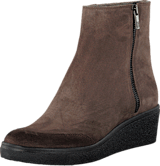Ilse Jacobsen - Platform Ancle Boots Chocolate
