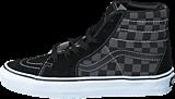 Vans - Sk8-Hi (Checkerboard) Black/Pewter