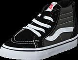 Vans - SK8-Hi Zip (2 Tone) Black/Charcoal