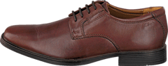 Clarks - Tilden Plain Brown Leather