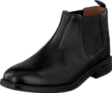 Clarks - Chilver Top Black Leather