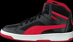 Puma - Puma Rebound V2 Hi Jr Black