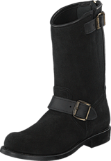 PrimeBoots - Engineer Mid Black Brass