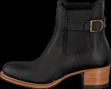 PrimeBoots - Ascot Heel Low Black Brass