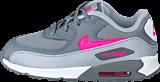 Nike - Nike Air Max 90 Mesh (Td) Cl Grey/Hypr Pnk-Wlf Gry-White