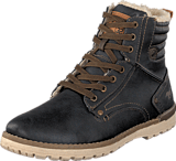 Mustang - 4092603 Men's Boot (fur) Graphite