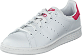adidas Originals - Stan Smith J Ftwr White/Bold Pink