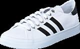 adidas Originals - Courtvantage White/Black/Metallic Silver