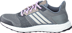adidas Sport Performance - Ultra Boost St  W Grey/Chalk White/Purple Glow