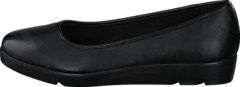 Clarks - Evie Buzz Black Leather