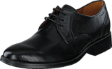 Clarks - Kolby Walk Black Leather