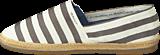 Gant - Gina Stripe G91 Cream/Silver Grey