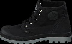 Palladium - Pampa Hi Zipper Kids 53196-097 Black