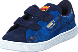 Puma - Suede Superman 2 V Kids Peacoat-Princess Blue
