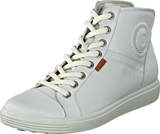 Ecco - Soft 7 Ladies Mid White