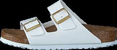 Birkenstock - Arizona Slim Birko-Flor Patent White