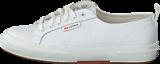 Superga - 2750-FGLU Leather White