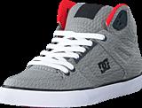 DC Shoes - Dc Spartan Hi Wc Tx Se Shoe Grey/Red