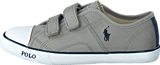 Ralph Lauren Junior - Daymond Ez Kids Grey Canvas - Navy