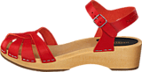 Swedish Hasbeens - Cross Debutant Red/Natue sole