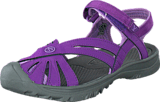 Keen - Rose Sandal-Jr Purple Heart/Gargoyle