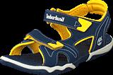 Timberland - Adventure Seeker 2 Strap Jr Navy/Yellow