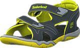 Timberland - Adventure Seeker 2 Strap Jr Dark Grey/Green