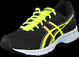 Asics - GEL-GALAXY 8 GS Black/Flash Yellow/White