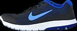 Nike - Wmns Nike Flex Experience Rn 4 Black/Chalk Blue-Rcr Bl-White