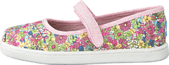 Toms - Mary Jane Flat Pink Floral