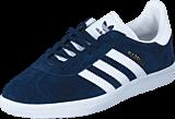 adidas Originals - Gazelle Collegiate Navy/White/Gold Met