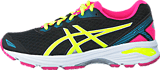 Asics - Gt-1000 5 Gs Black/Safety Yellow/Pink Glow