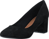 Bianco - Blok Heel Pump AMJ17 10 Black
