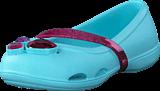 Crocs - Crocs Lina Flat K Ice Blue