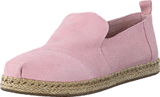 Toms - Decontructed Alpergata Pale Pink Suede