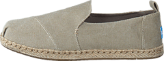Toms - Decontructed Alpergata Desert Taupe Washed Canvas