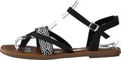 Toms - Lexie Black Canvas/Embroidery