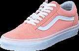 Vans - UA Old Skool Suede Canvas Peach/White