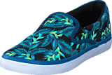Quiksilver - Shorebreak Slip-On Blue/Green/White