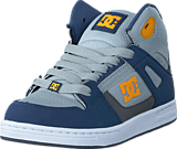 DC Shoes - Rebound SE/Glow in the dark Blue/Grey/Blue