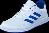 adidas Sport Performance - Altasport K Ftwr White/Blue/Ftwr White