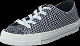 Converse - All Star Gemma Hi Snake Leath Black