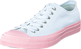 Converse - Chuck Taylor All Star II Ox White/ Vapor Pink