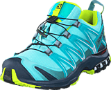 Salomon - XA PRO 3D GTX® W Ablue/Ombre Blue/Lime Punc