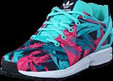 adidas Originals - Zx Flux J Energy Aqua F17/Energy Aqua F1