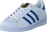adidas Originals - Superstar Foundation J Ftwr White/Eqt Blue S16/Eqt Bl