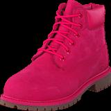 Timberland - 6 In Premium WP Boot Rose Red Waterbuck